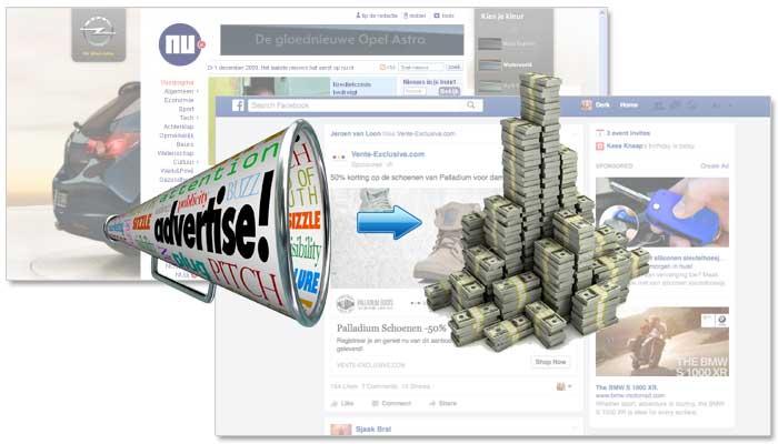 Inkomsten uit advertenties