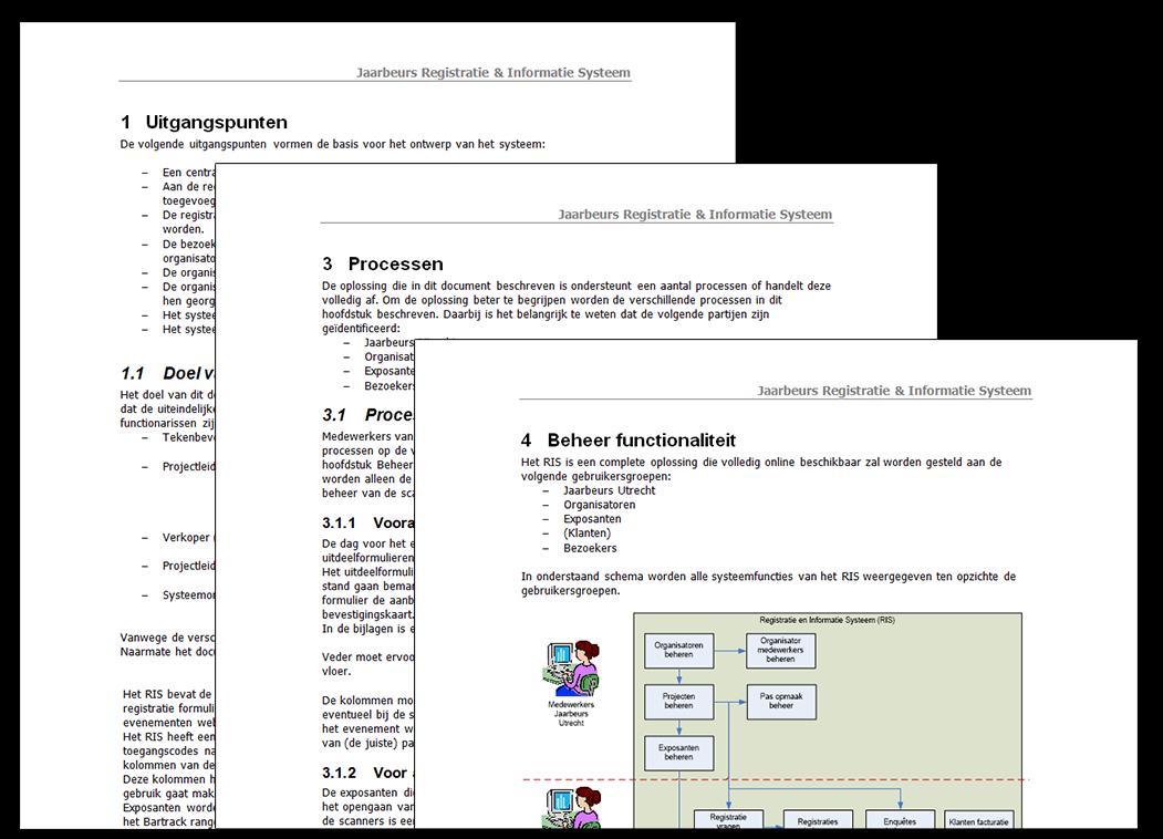 Ontwerp document eVisit Jaarbeurs Utrecht